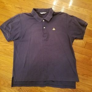 Brooks Brothers Golden Fleece Navy Polo M Ivy